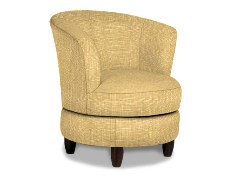 Palmona swivel accent chair for Best living room chairs