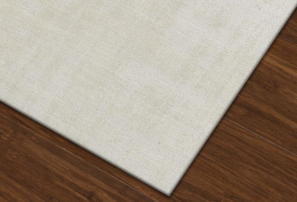 Laramie Ivory Hand Loomed Wool Amp Viscose Yarns Rug
