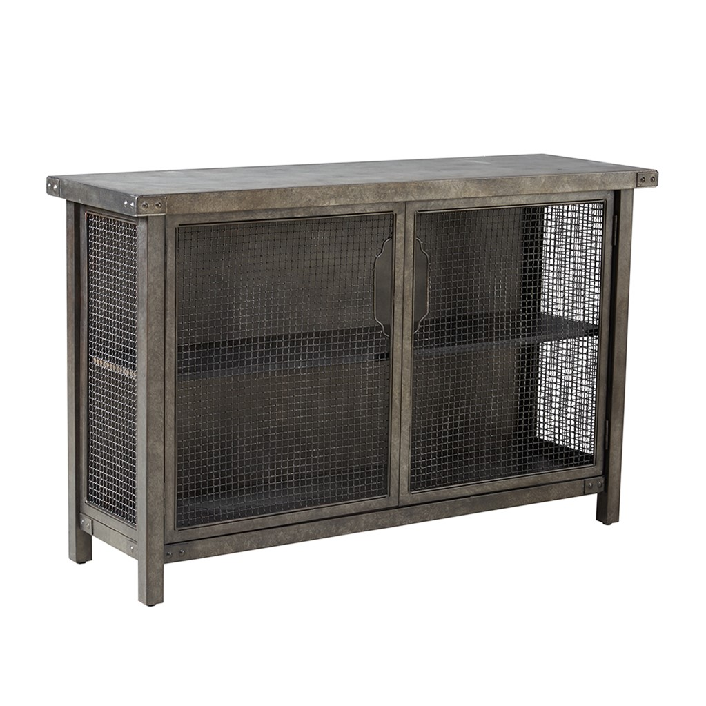 Cody Storage Sideboard Console Grey Abode And Company