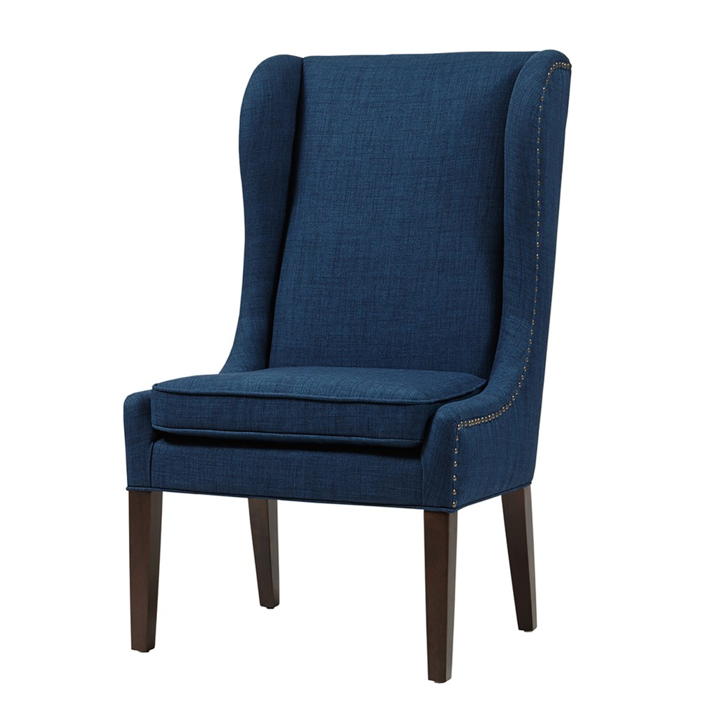 Dining Out In Your New Navy Blue Dining Room: Harlow Captains Dining Chair - Navy