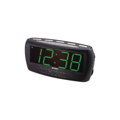 jensen jumbo digital alarm clock radio. Black Bedroom Furniture Sets. Home Design Ideas