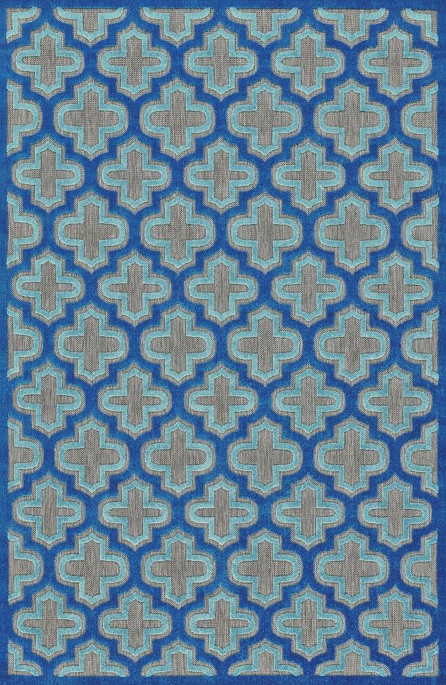 Raphia II Azul Indoor/Outdoor Rug