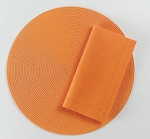 Spectrum Round Placemats Orange