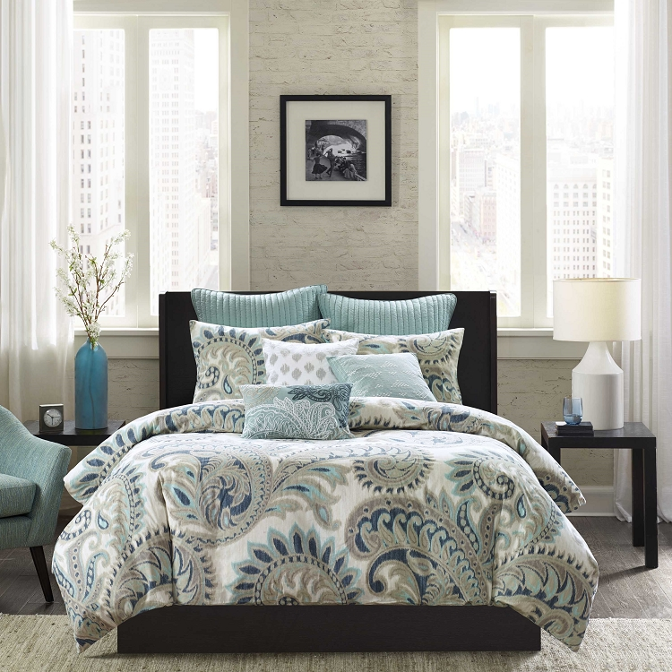 Seafoam 3 Piece Duvet Cover Mini Set
