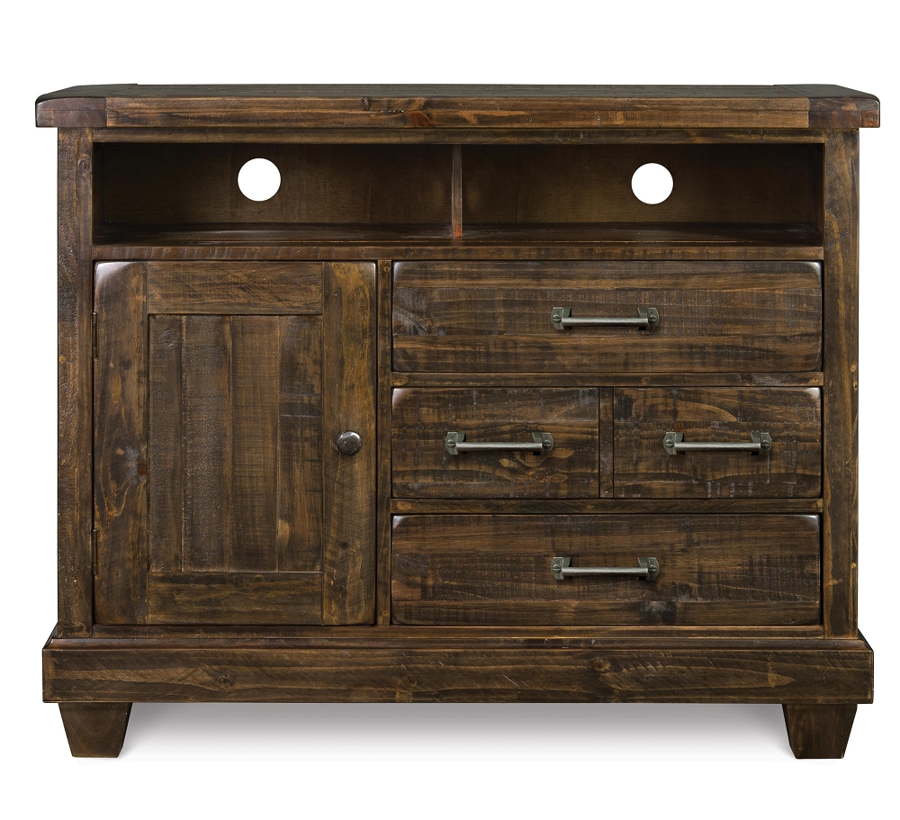 brenley natural umber wood media chest