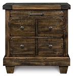 Brenley 3 Drawers Nightstand