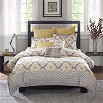 Yellow Sierra 3 Piece Duvet Cover Mini Set