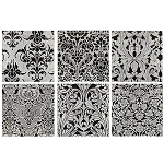 Damask Metal Wall Art 10