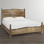 Live Edge Solid Maple Hardwood Bed