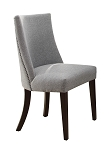 Chicago Grey Upholstered Side Dining Chair (Set of 2)