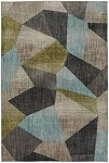 Downtown Lagoon Super Soft Everstrand Recycled Polyester Yarn Rug