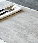 Concrete Grey & Natural Placemat