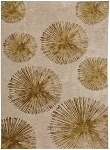 Haight Brushed Gold Smartstrand Silk 8' x 11' Area Rug