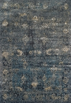 Antiquity Charcoal Art Silk & Polypropylene Rug