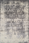 Antiquity Grey Art Silk & Polypropylene Rug