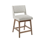 Lucy Light Upholerstered Stool