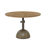 Discus Round Accent Table