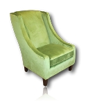 Jade Wing Back Accent Club Chair