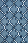 Infinity Seaglass Poly/Acrylic Plush and Loop Pile Rug