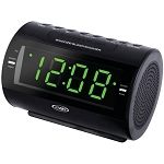 Jensen Dual Alarm LED Digital Radio Alarm Clock