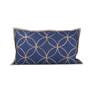 "Indigo Dream Pillow 20"" x 12"""