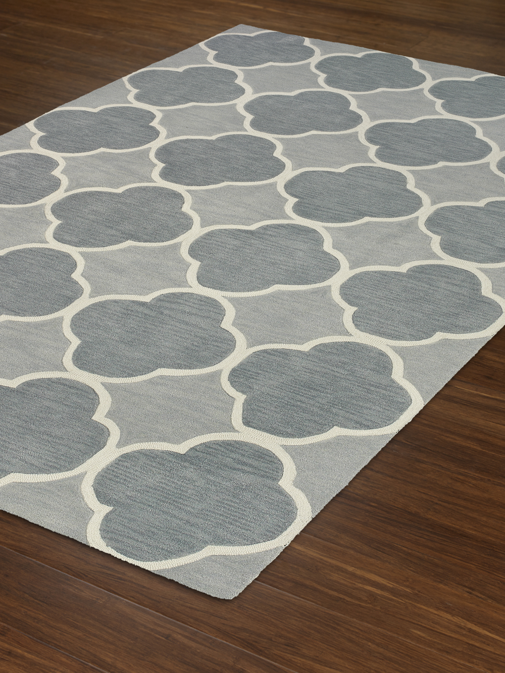 Infinity Sky Poly Acrylic Plush And Loop Pile Rug