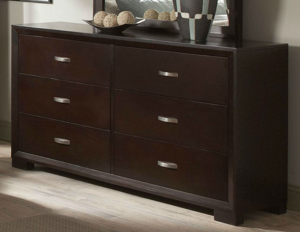 modern bedroom dressers and chests astrid contemporary espresso dresser 19221