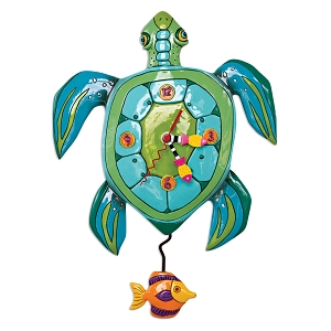 Sup Dude Turtle Wall Clock by Allen Designs
