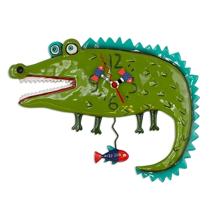 Later Gator Wall Clock by Allen Designs