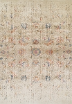 Antiquity Multi Color & Ivory Art Silk & Polypropylene Rug