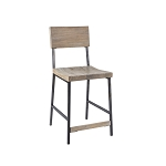 Casper Wood & Metal Stool