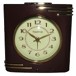 Crestone Alarm Clock Brown and Gold
